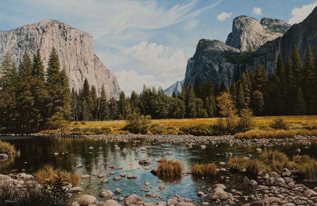 Yosemite Beauty by Denis Milhomme