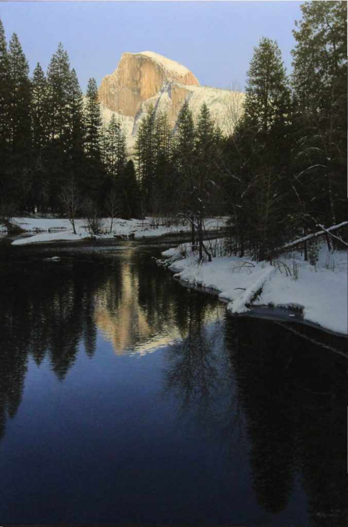 "Valley Twilight 30"" x 220"" $12,500.00"